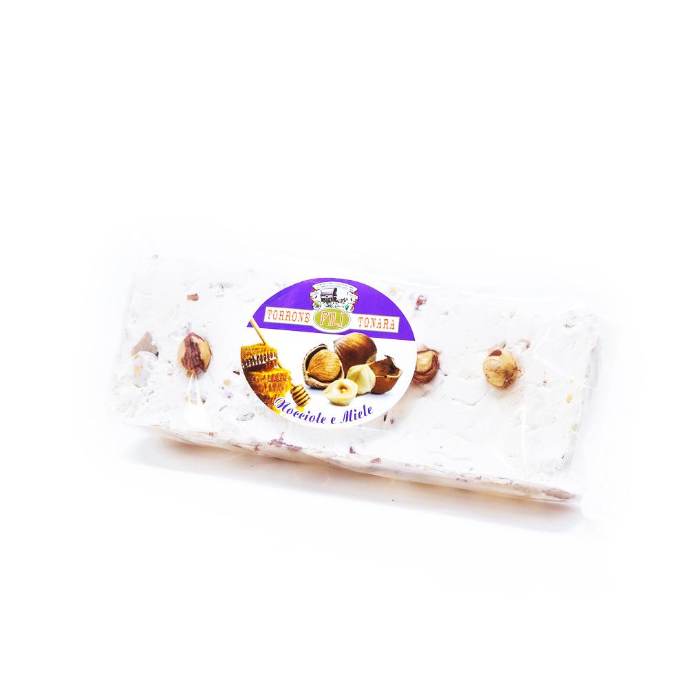 Stecca Torrone nocciole e miele a vista – 200 g