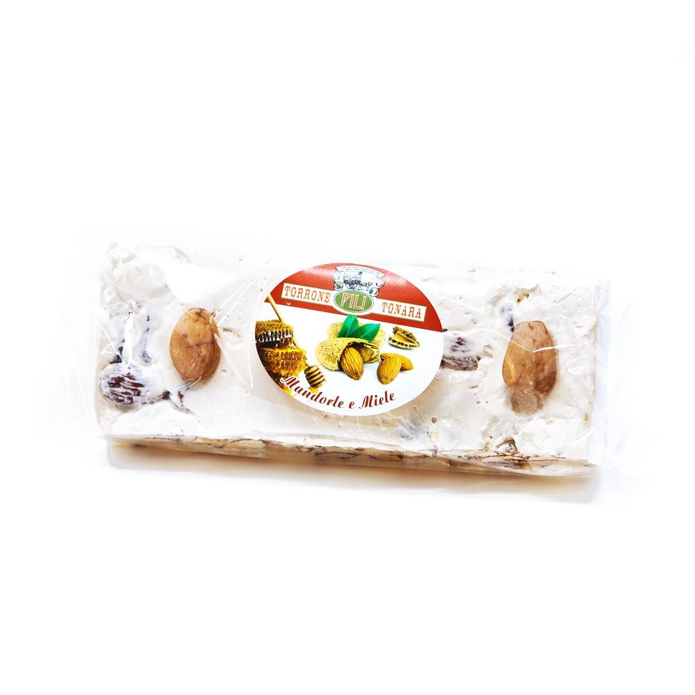Stecca Torrone mandorle e miele a vista – 200 g