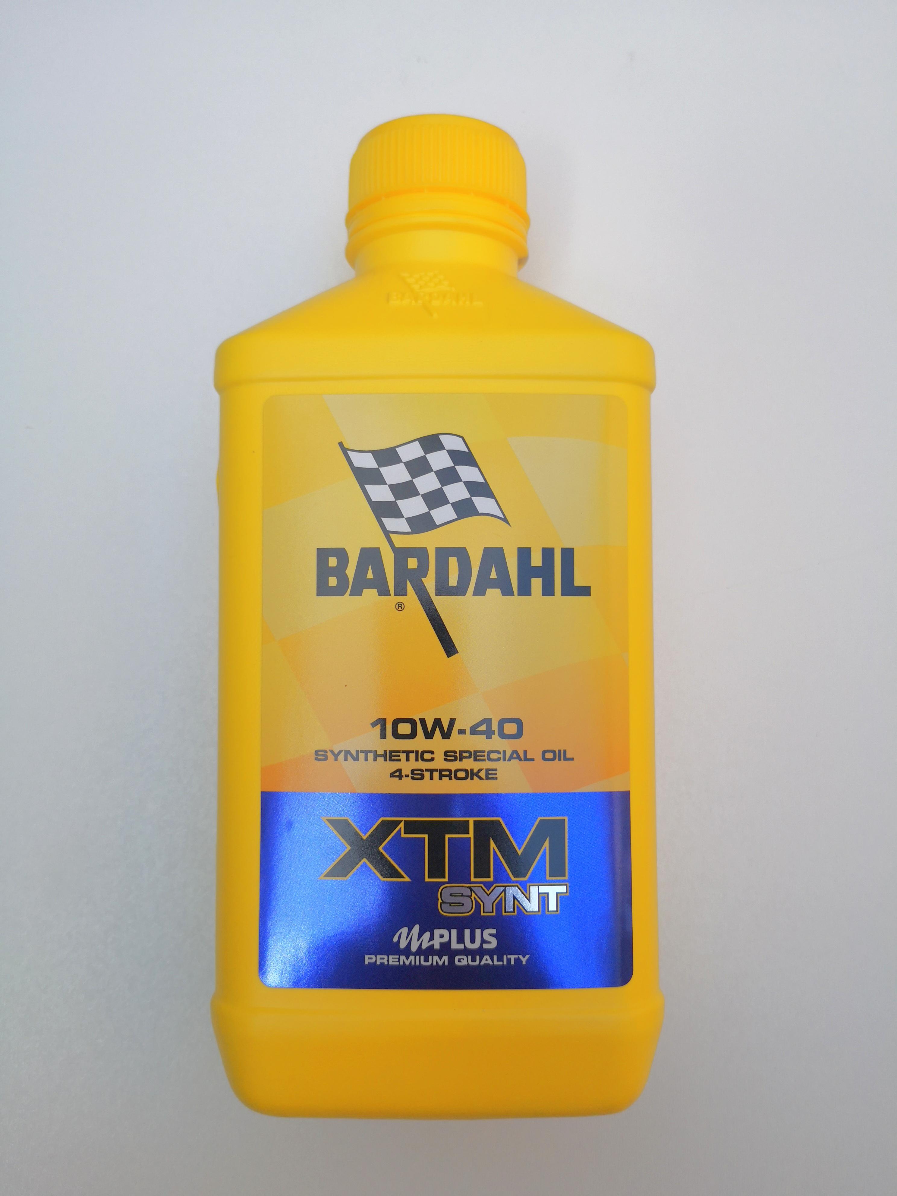 OLIO MOTORE BARDAHL XTM SYNT per MOTO e SCOOTER 4 TEMPI  - SEMISINTETICO  SAE 10W40 - MOTOFORNITURE GF