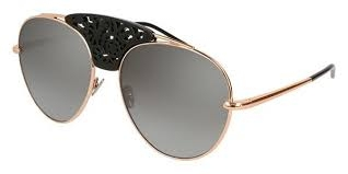 Pomellato - Occhiale da Sole Donna, Gold/Silver Shaded Mirror PM0033/S 002 Q  C59