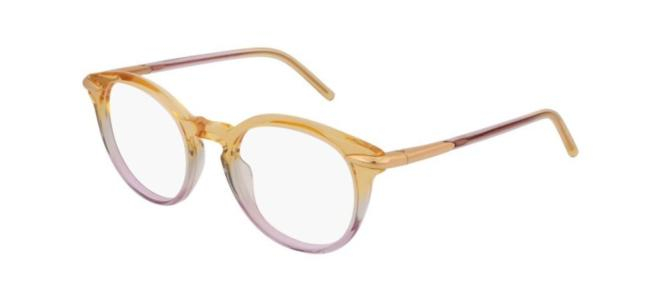 Pomellato - Occhiale da Vista Donna, Yellow Shaded Violet/Anti-Reflective Lenses PM0038O 004 D  C48