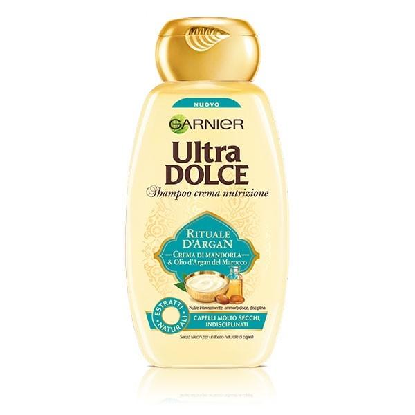 GARNIER ULTRA DOLCE Shampoo Rituale d'Argan 400 ml