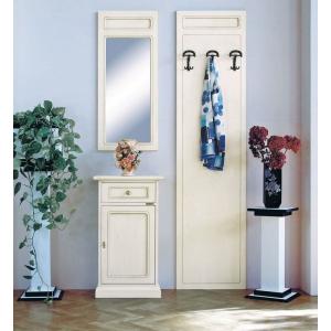 mobili ingresso, attaccapanni con specchio