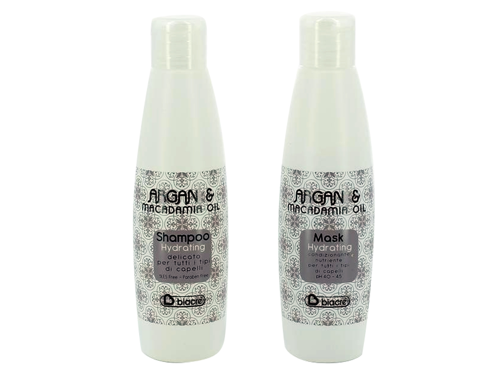 Kit Argan & Macadamia Shampoo e Maschera 2 x 100 ml