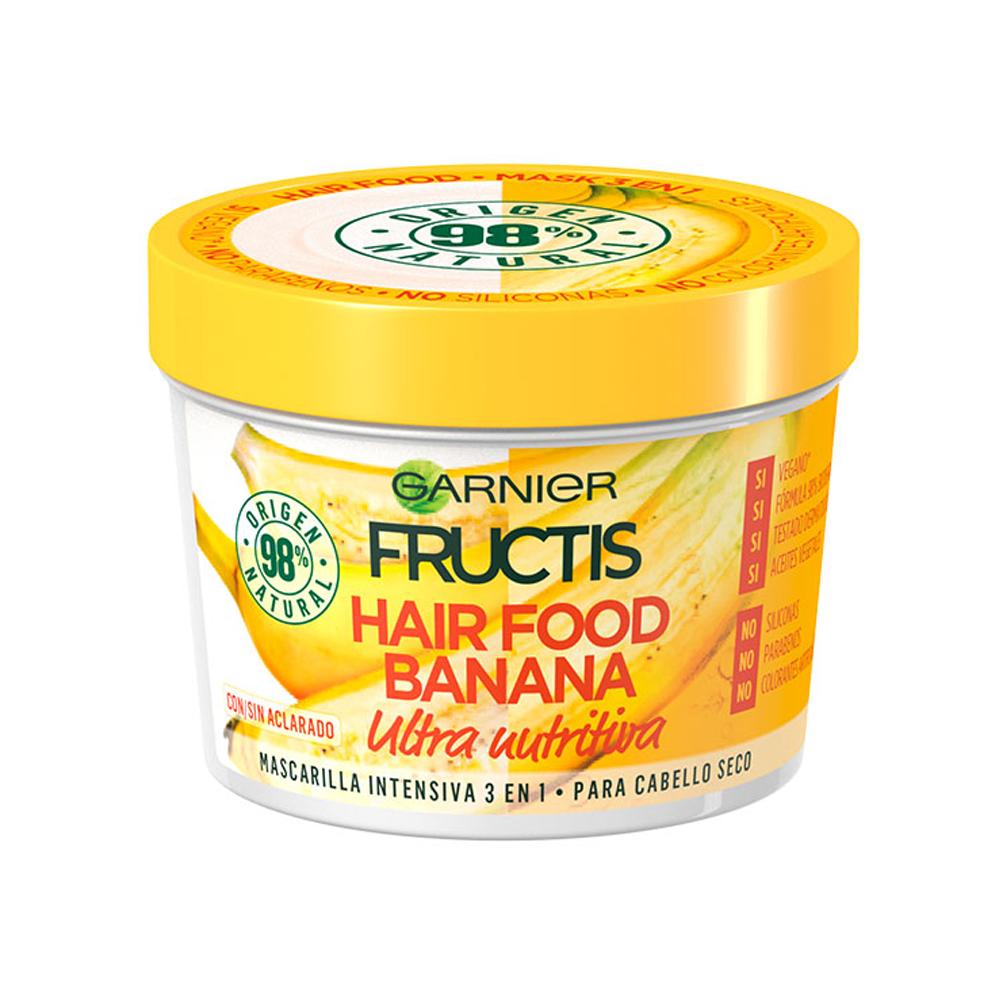 FRUCTIS Maschera Hair Food Banana nutriente 390 ml