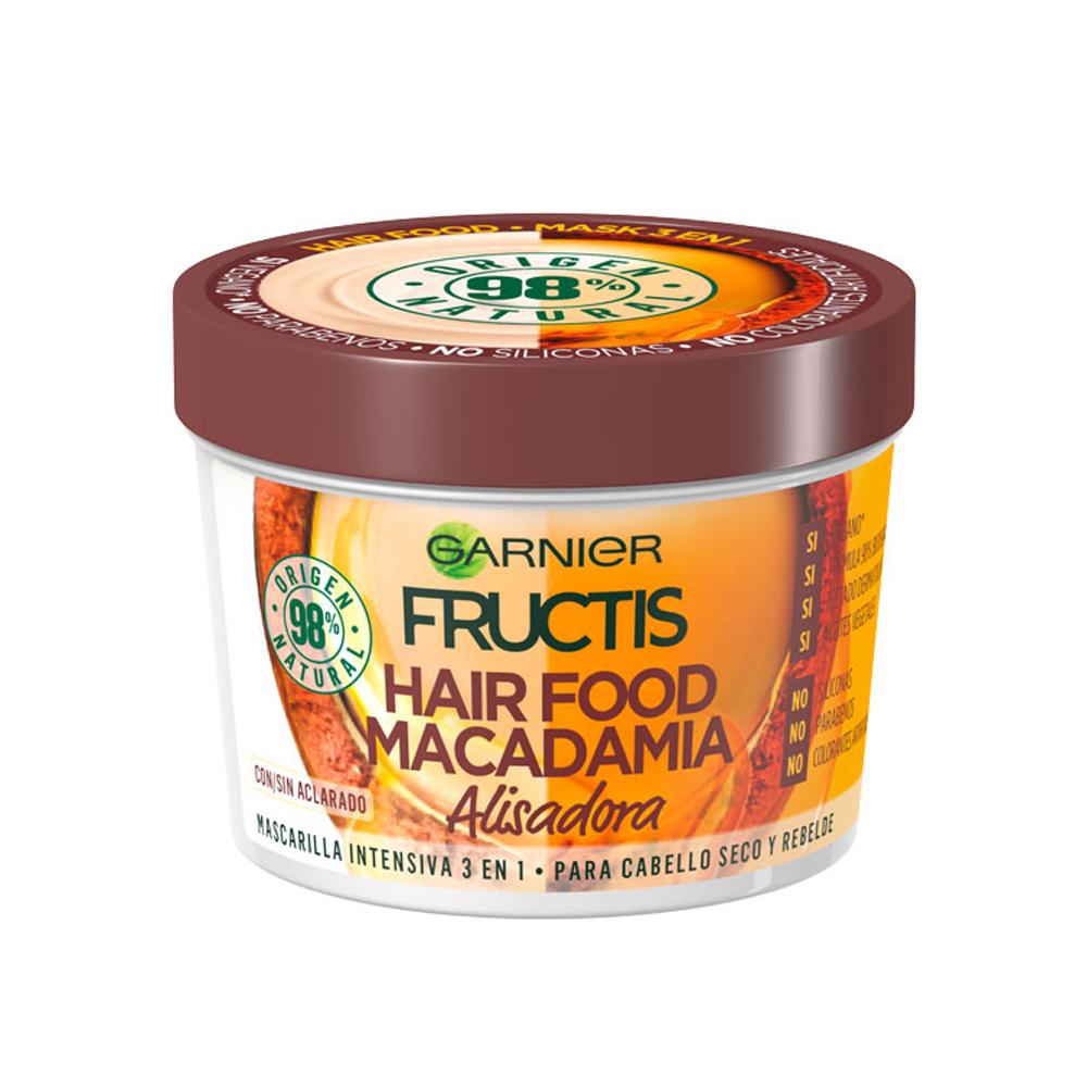 FRUCTIS Maschera Hair Food Macadamia Lisciante 390 ml