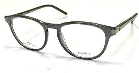 Safilo - Occhiale da Vista Uomo, Dark Grey Black SA 1037 0DPB C50
