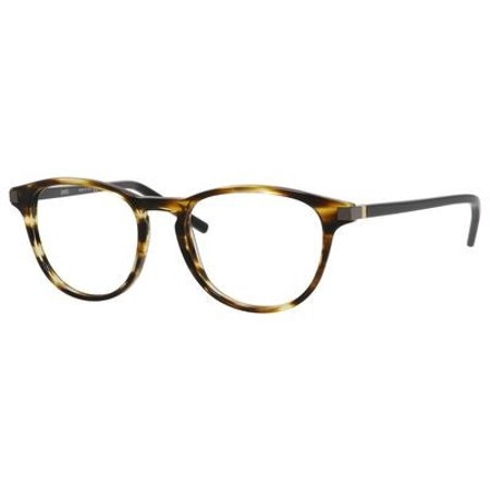 Safilo - Occhiale da Vista Uomo, Dark Grey/Blonde Havana SA 1037 V8A C50