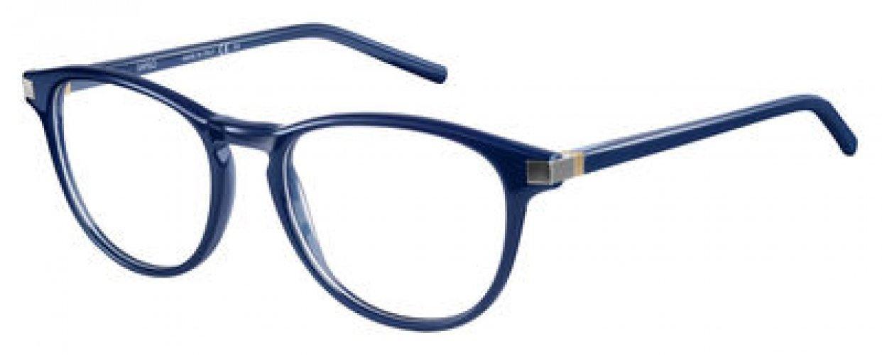 Safilo - Occhiale da Vista Uomo, Matte Blue SA 1037 04ER C50