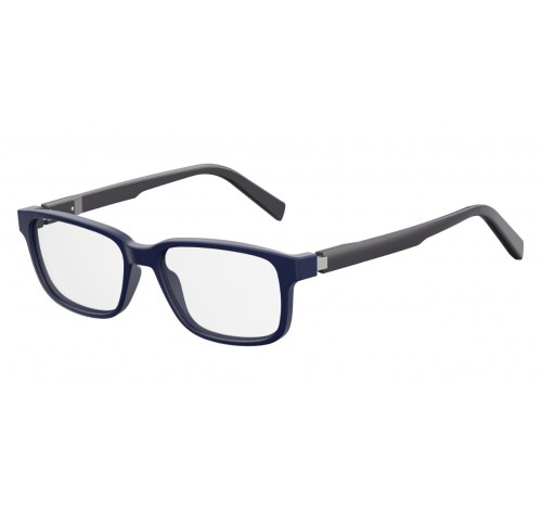 Safilo - Occhiale da Vista Uomo, Dark Blue Grey SA 1079 13D/16 C50