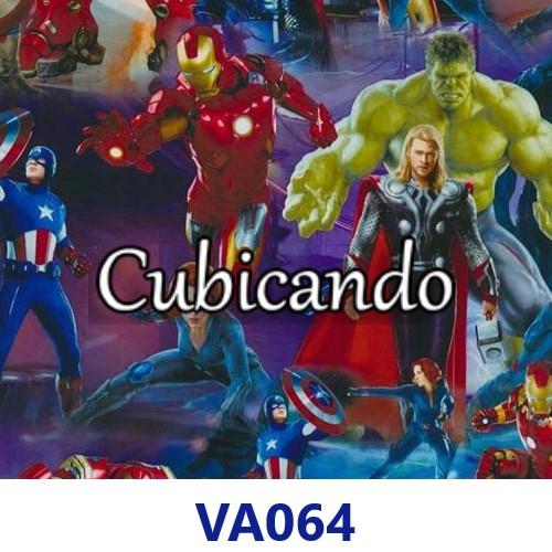 Pellicola per Cubicatura effetto The Avengers