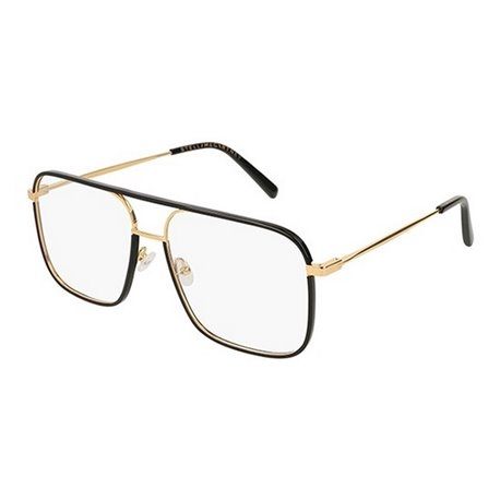 Stella McCartney  - Occhiale da Vista Donna, Black/Gold SC0124O 001 C57