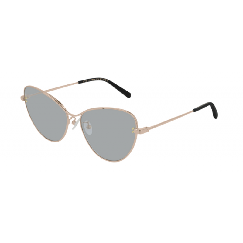 Stella McCartney - Occhiale da Sole Donna, Light Rose Gold/Grey Shaded SC0157S 004  C57