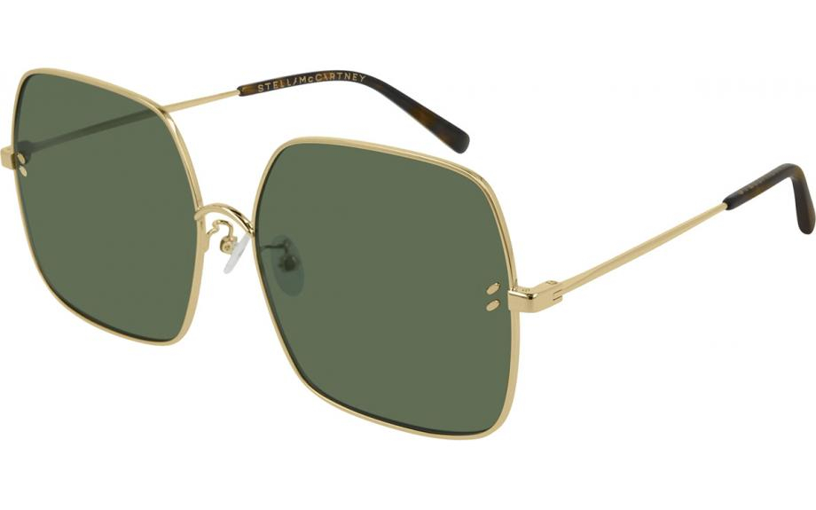 Stella McCartney - Occhiale da Sole Donna, Gold/Green Shaded SC0158S 001  C57