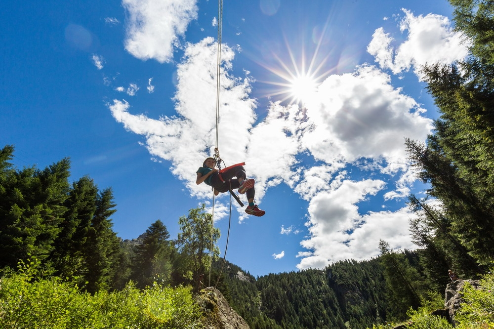 Summer camp for kids in the Italian Alps