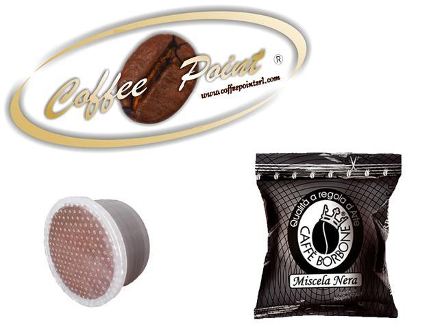 Capsula compatibile Lavazza espresso point Caffè Borbone Miscela Nera 100 pezzi