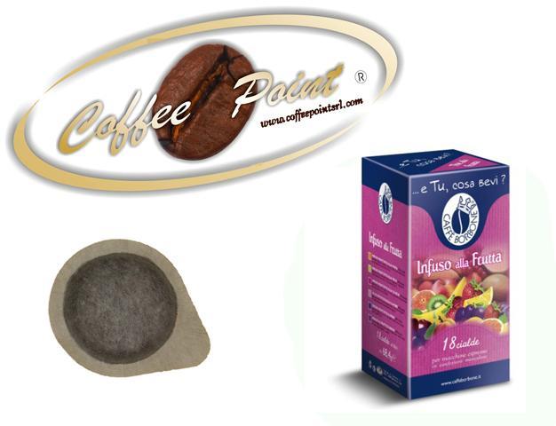 Cialda ESE 44mm Caffè BorboneInfuso alla Frutta 18 pezzi