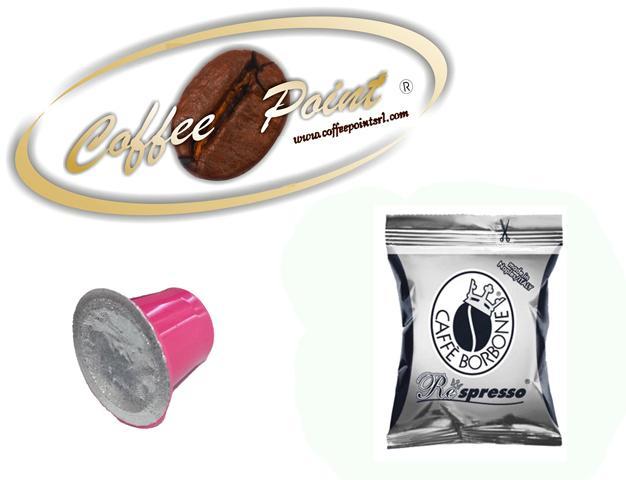 Capsula compatibile Nespresso Caffè Borbone Miscela Nera 100 pezzi