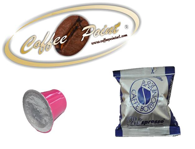 Capsula compatibile Nespresso Caffè Borbone Miscela Blu 100 pezzi