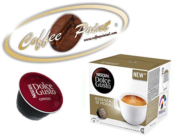96 capsule Nescafè Dolce gusto Essenza di Moka