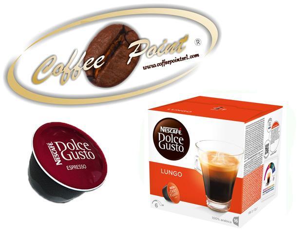 96 capsule Nescafè Dolce gusto caffè Lungo