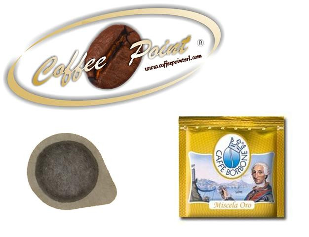 Cialda dm 38mm Caffè Borbone Miscela Oro 100 pezzi