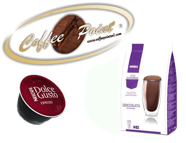 Capsula compatibile Nescafè Dolcegusto G Moka cioccolato 16pz
