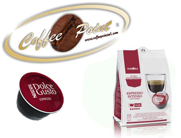 Capsula compatibile Nescafè Dolcegusto G Moka Caffè Intenso 16pz