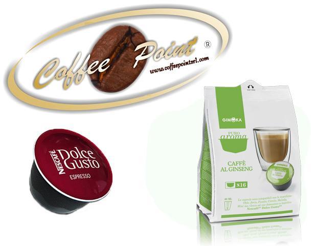 Capsula compatibile Nescafè Dolcegusto G Moka Caffè Ginseng 16pz