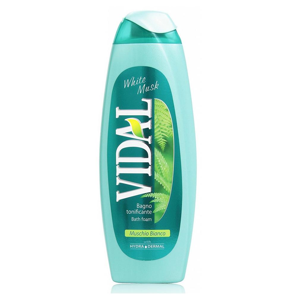 VIDAL Bagno schiuma Muschio bianco 500 ml