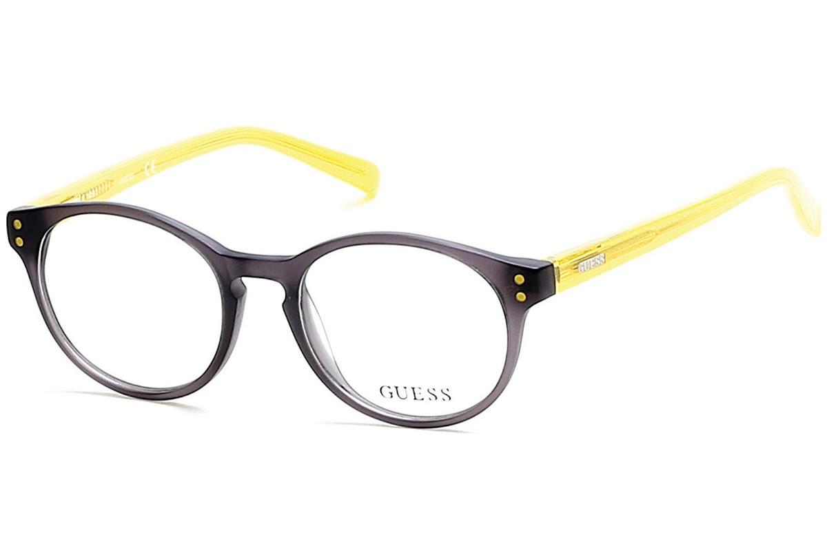 Guess - Occhiale da Vista Bambino, Matte Grey/Black  GU 9160 020 C45