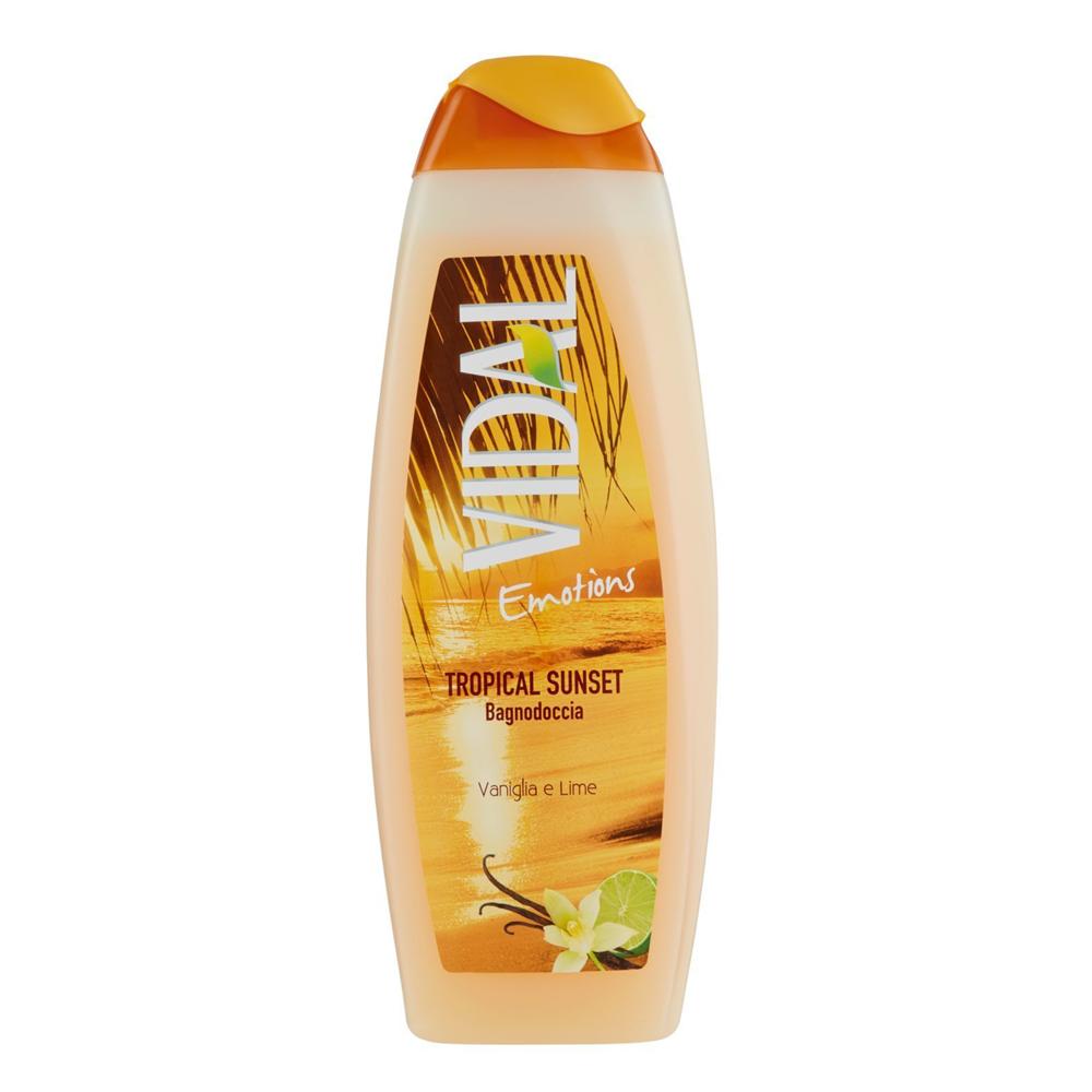 VIDAL Bagno schiuma Emotions Vaniglia e Lime 500 ml