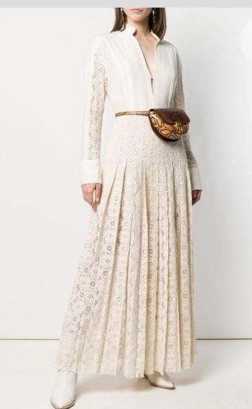 Vestito plissettato