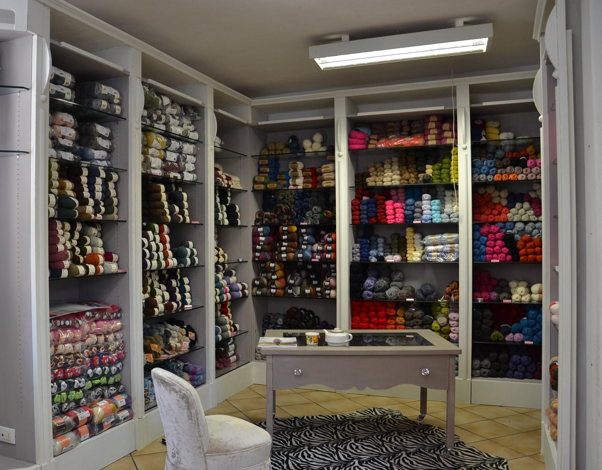 Filati lana e cotone
