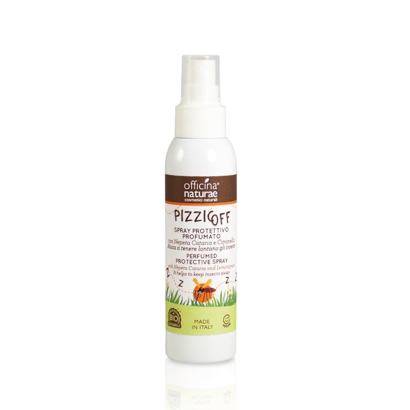 Pizzicoff Spray Antizanzare Biologico con oli essenziali OFFICINA NATURAE