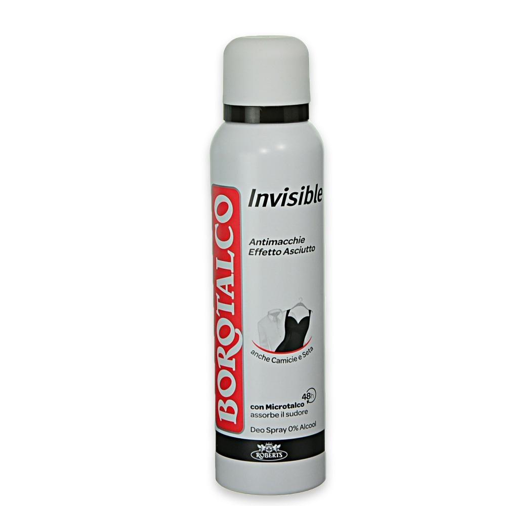 BOROTALCO Deodorante spray Invisible 150 ml