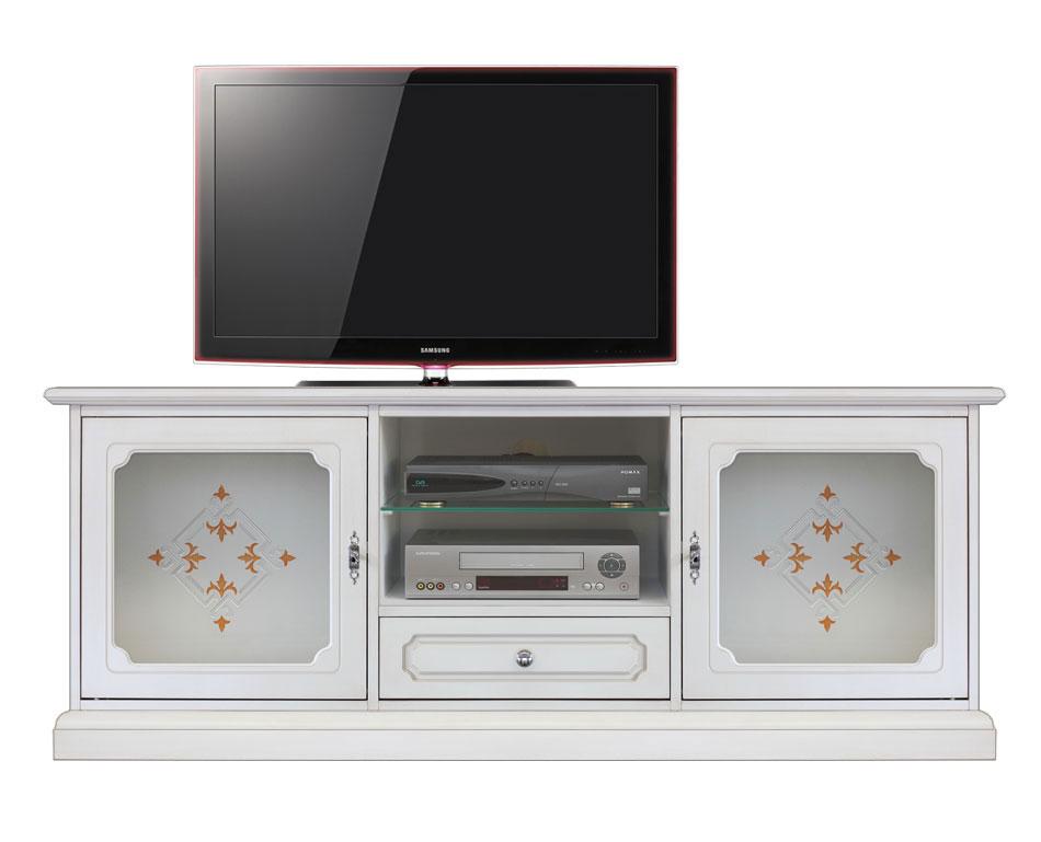 Mobile tv vetri decorati 'Top Glass'