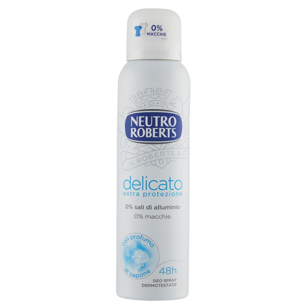 NEUTRO ROBERTS Delicato Deodorante Spray 125ml