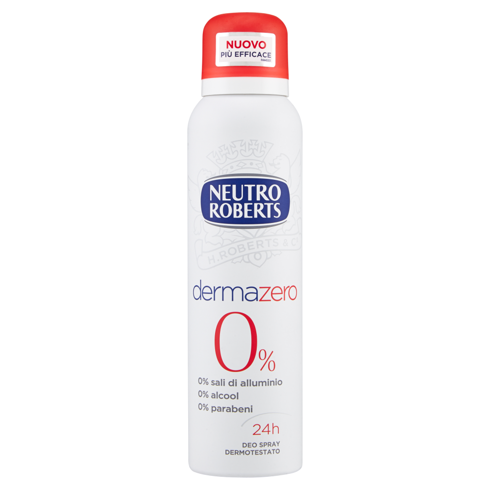 NEUTRO ROBERTS Dermazero Deodorante Spray 125ml
