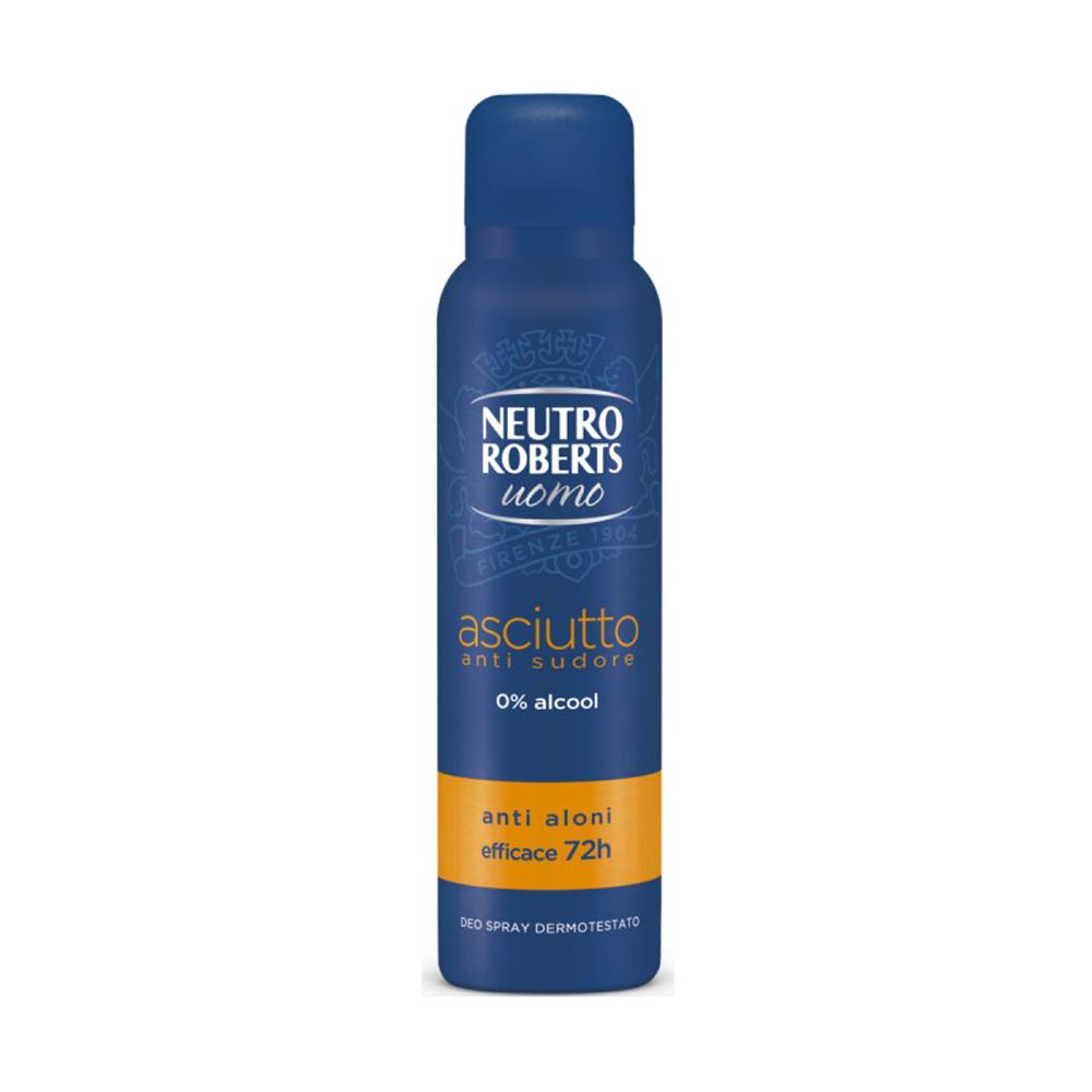 NEUTRO ROBERTS Uomo Asciutto Deodorante Spray 150ml