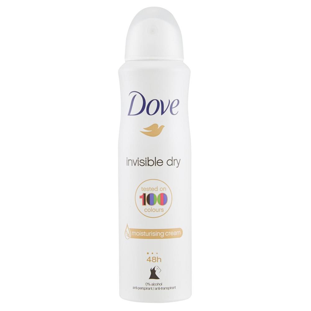 DOVE Deodorante spray Invisible Dry 150 ml