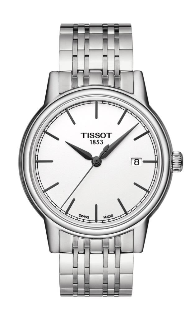 Orologio Tissot Uomo al quarzo Carson, cassa e bracciale Acciaio T085.410.11.011.00