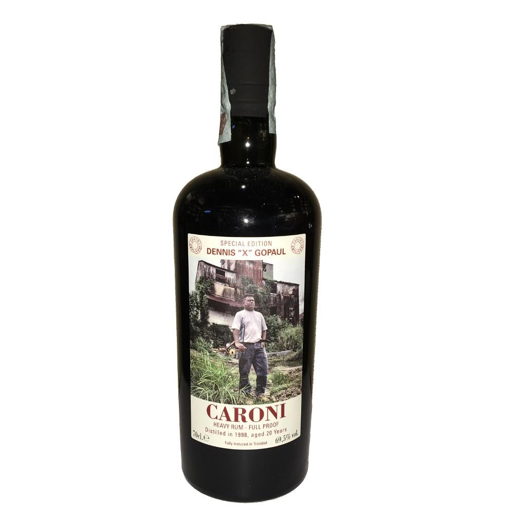 Caroni - Rum 20 YO Special Edition Dennis X Gopaul