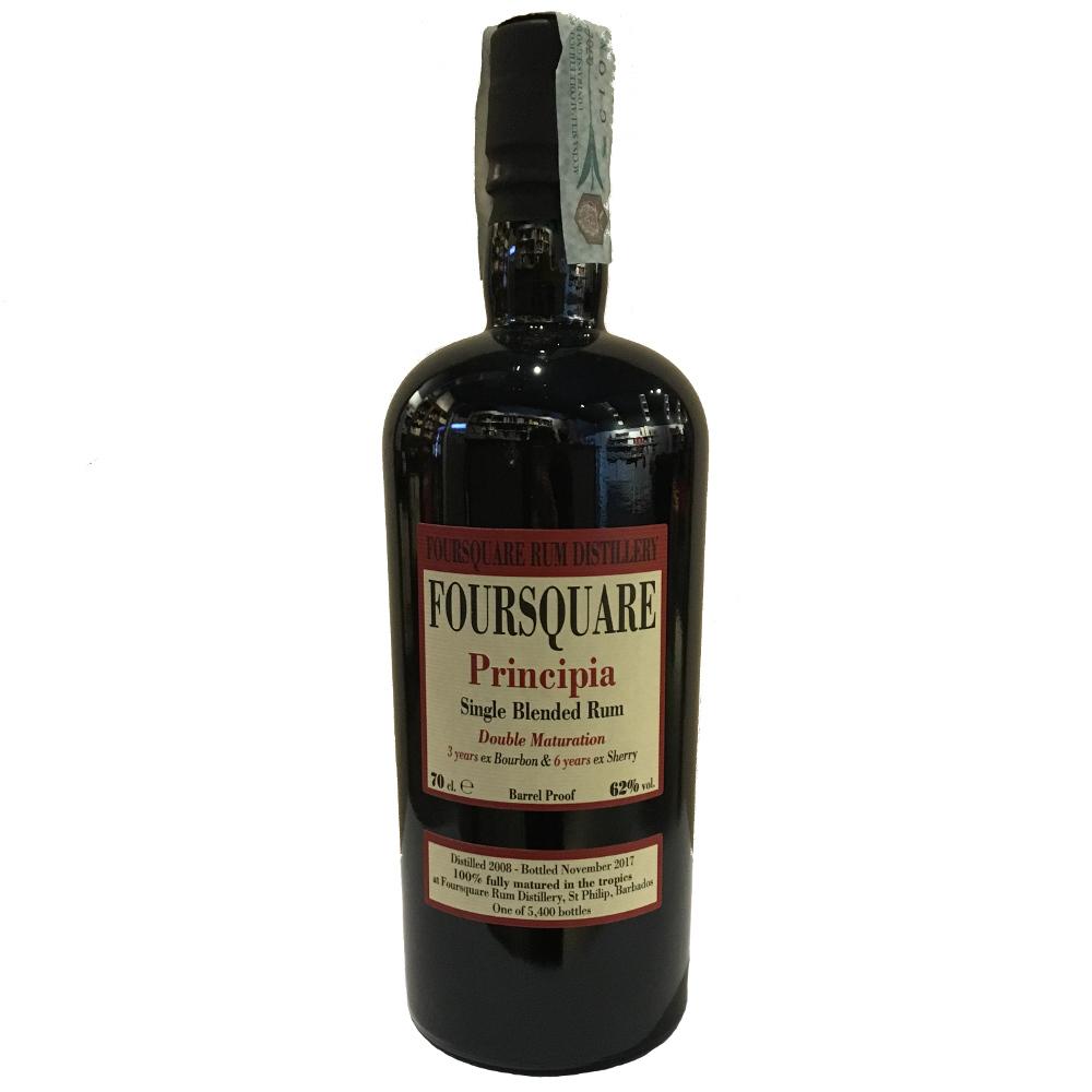 Foursquare - Single Blended Rum Principia