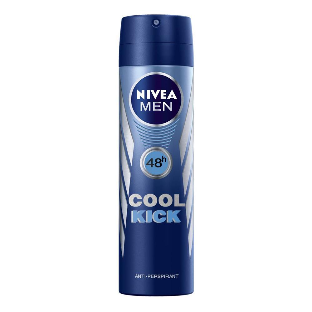 NIVEA MEN Cool Kick Deodorante Spray 150ml