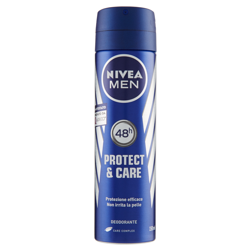 NIVEA MEN Deodorante spray Protect & Care 150 ml