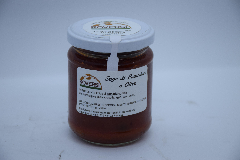 Sugo di Pomodoro e Olive