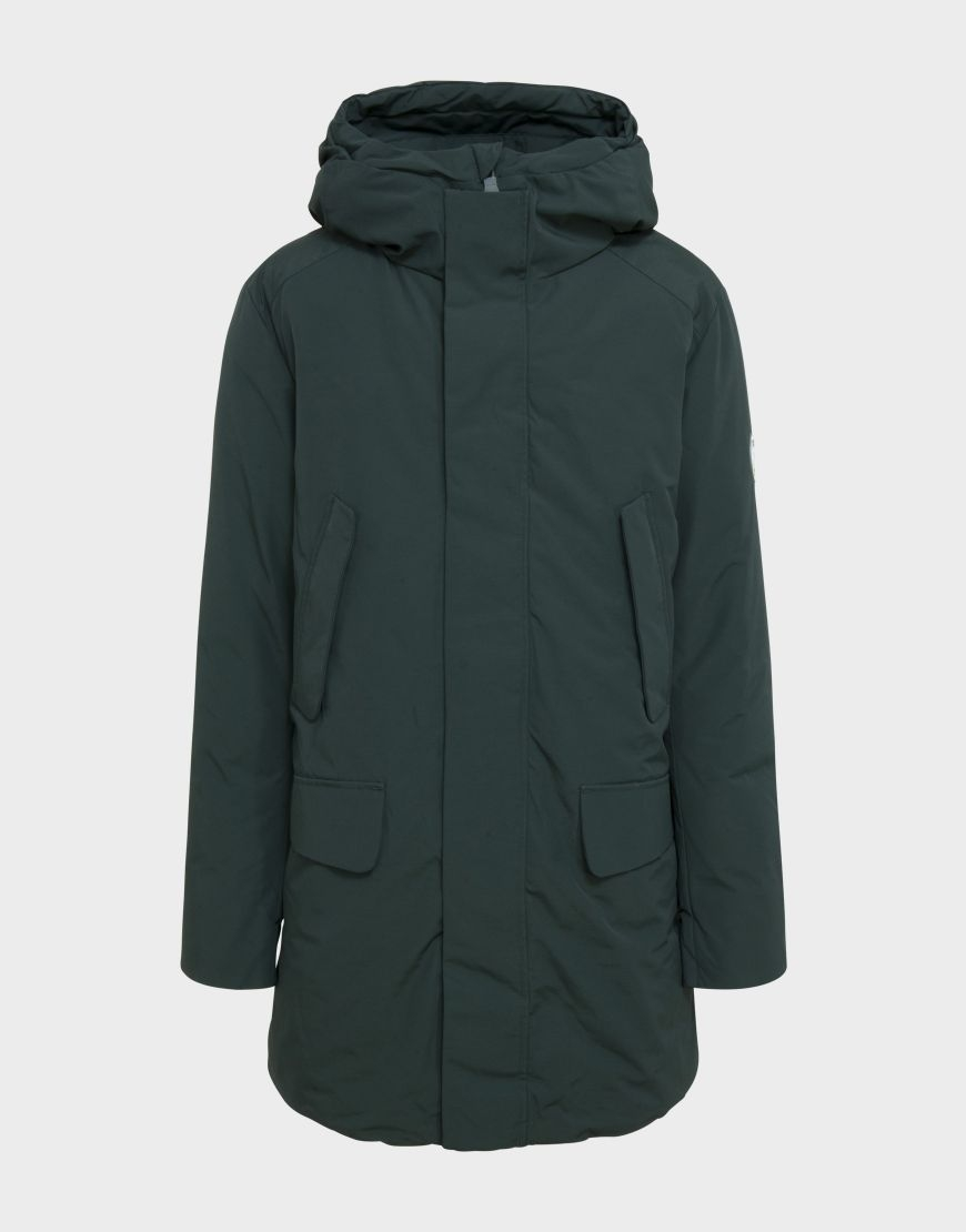 Parka uomo SAVE THE DUCK COPY7 green black