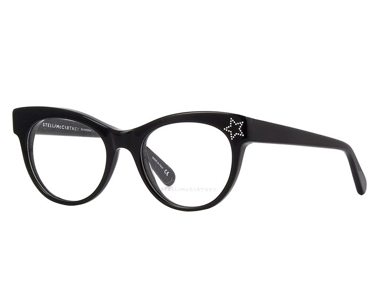 Stella McCartney  - Occhiale da Vista Donna, Stella Iconic, Black SC0103O 001 C51