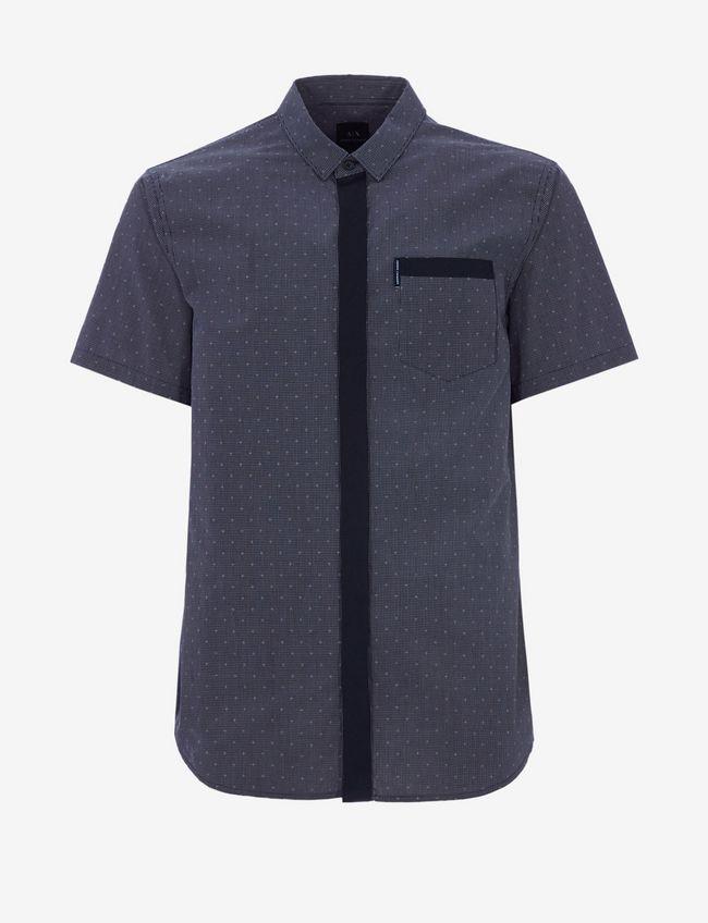 Camicia uomo ARMANI EXCHANGE microfantasia